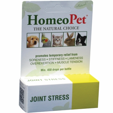 Homeopathic medicine for sore muscles in pets by HomeoPet