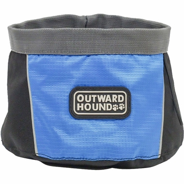 Collapsible dog bowl by Outward Hound