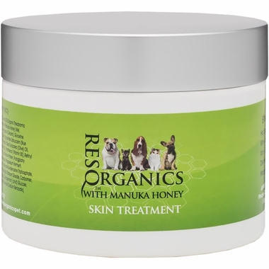 ResqOrganics skin treatment with Manuka Honey for Pets