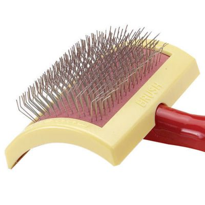 slicker dog brush