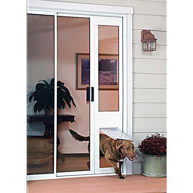 Endura sliding door insert for dog or cat flap